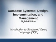 Foundation-Introduction To SQL (1)