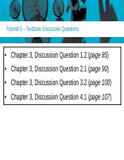 Tutorial 3 Discussion Questions(11)