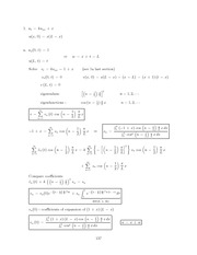 Differential Equations Lecture Work Solutions 137