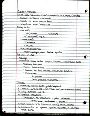 Lipids and Protiens Notes