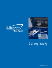 Blue Paper Survey savvy