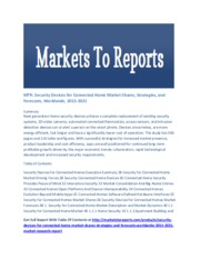 277379092-Security-Devices-for-Connected-Home-Market-Shares-Strategies-And-Forecasts-Worldwide-2015-