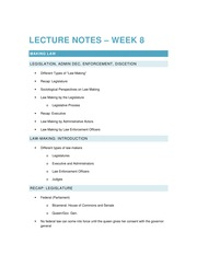 2014 11 05 Lecture Notes – Week 8