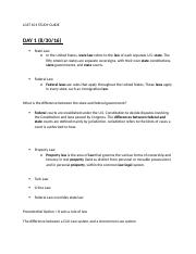 LGST 101 STUDY GUIDE (Autosaved).docx