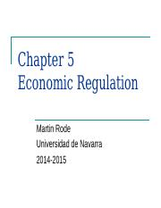 5) Economic Regulation.ppt