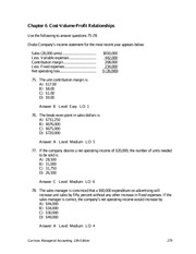 managerial accounting hilton quiz1 answers Previous answers: 2, 4 managerial accounting 101 quiz learning managerial accounting looks at the internal operations of a business to understand where its costs come from, what its minimum pricing should be, and where to make investments where financial accounting exists to report results to both internal and.