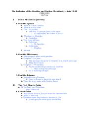 Lecture 11 Notes - Pauline Mission.doc