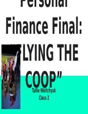 Nikitchyuk Period 2 -Flying the Coop-.pptx