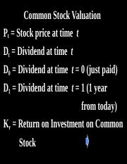10-VALUATION-DCF+Common & Preferred Stocks.ppt