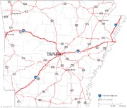 arkansas-road-map
