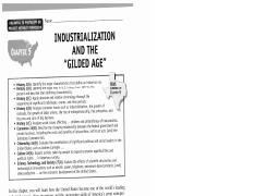 Ch. 5 Industrialization the Gilded Age(2)
