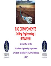 Chapter 2_Rig Components_Circulating System