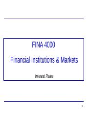 7. FINA4000_IntRates