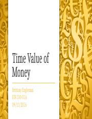 Time Value of Money-Engleman