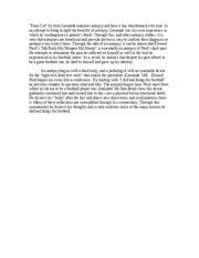 P.e.e.l english essay