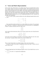 EITS Lecture 11 - Vector and Matrix Representations