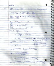 Further Examples of First Order Differential Equations