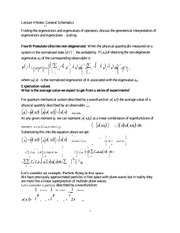 Lecture 4 Notes General Schematics