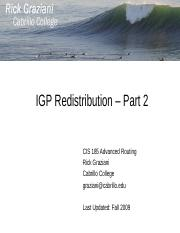 cis185-BSCI-lecture7-IGP-Redistribution-Part2.ppt