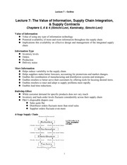 Lecture 7_ValueOfInformation_SCIntegration_SupplyContract