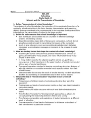 Unit 4 Study Guide edl 200