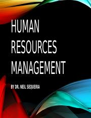 Human resources management - OVERVIEW.pptx