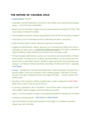 HIST 151- The Nature of Colonial Rule.docx