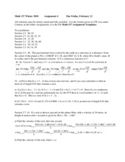 Math_137_Winter_2010_Solution_4