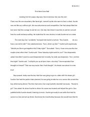 Surviving in the wilderness Narrative Essay.docx