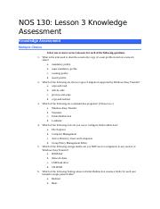 NOS 130-Lesson 3 Knowledge Assessment-Blank.docx