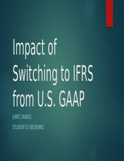 Impact of Switching to IFRS from U.pptx