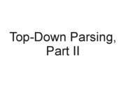 040_Top_Down_Parsing_2