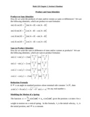 Math 120 chapter3section6 handout