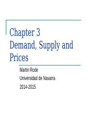 3) Demand, Supply and Prices.ppt