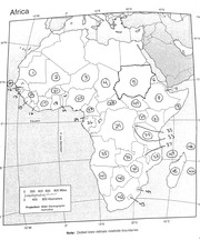 Africa Map Study Guide