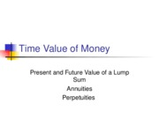 L05 Time Value of Money