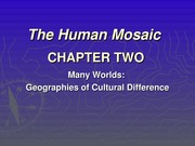 Chapter 2-Cultural