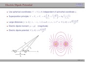 100. Electric Dipole Potential