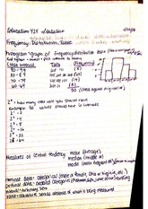 Frequency Distribution Class Notes