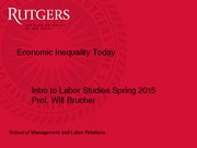 Economic Inequality Slides