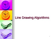 Line and Circle drawing algorithms lecture 2
