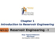 Chapter+1+-+Introduction+to+Reservoir+Engineering