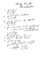 Polynomials study guide