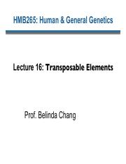 Lecture 16 Transposable elements 2015 - edited
