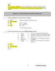 McMaster Chem 1A03 test 2 answers 2009