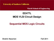 Unit8-SequentialMOS-EE477-Nazarian-Fall12