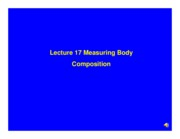 Lecture_17_Measuring_Body_Composition