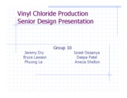 VINYL CHLORIDE PRODUCTION-POWERPOINT