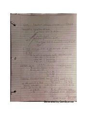 Equations of lines and planes notes