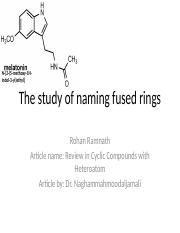 Heterocyclic nomenclature of fused rings.pptx